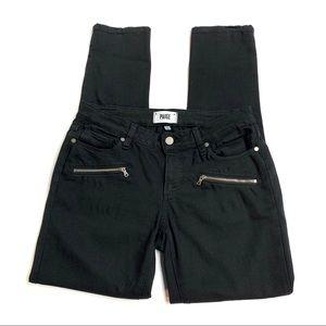 PAIGE Indio Zip Ultra Skinny Jean, 28
